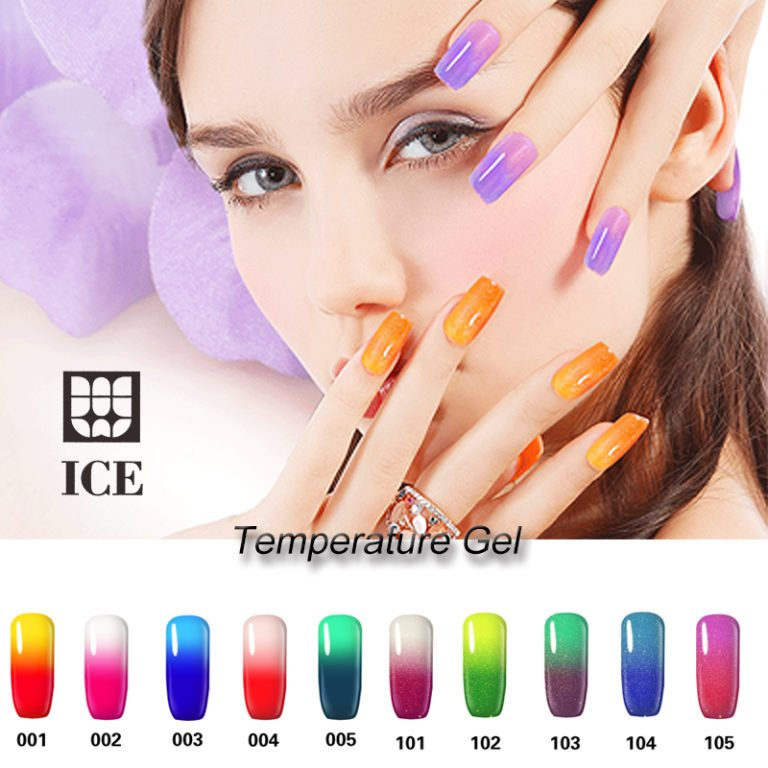 temperature gel nail