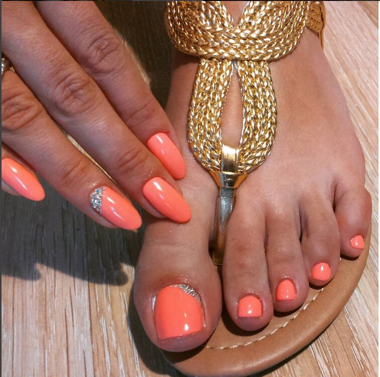 12 Nail Art Ideas For Your Toes – Soak Off Gel Nail Polish factory ...
